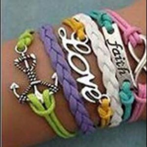Jewelry - 🦋3 for 30🦋 MultiLayers Vintage Woven Bangle